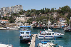Antalya Harbour, Turkey Royalty Free Stock Photo