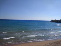 Antalya Manavgat Side Beach. Hollyday Stock Image