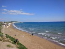 Antalya Manavgat Side Beach. Hollyday Royalty Free Stock Photos
