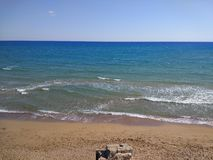 Antalya Manavgat Side Beach. Hollyday Royalty Free Stock Images