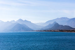 Antalya Mediterranean Sea Royalty Free Stock Photo