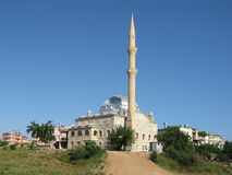 antalya minaretkalkon Arkivfoto