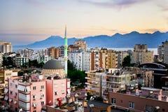 Antalya mosque Stock Image