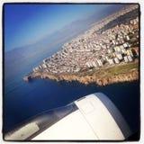 Antalya od nieba Fotografia Stock