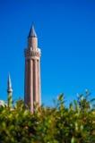 Antalya old town, Antalya old city mosque Royalty Free Stock Photo
