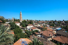 Antalya Old Town including tower Stock Photo
