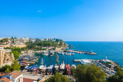 Antalya Old Town Royalty Free Stock Photo