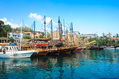 Antalya Old Town Royalty Free Stock Photography
