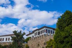 Antalya oude stad, de oude stad van Antalya Royalty-vrije Stock Foto's