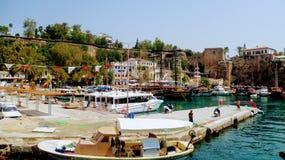 Antalya pier Royalty Free Stock Photography