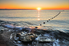 antalya plażowy kemer wschód słońca indyk Fotografia Royalty Free
