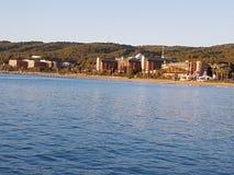 Antalya plaża Zdjęcie Royalty Free