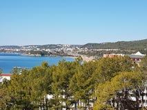 Antalya plaża Zdjęcia Royalty Free