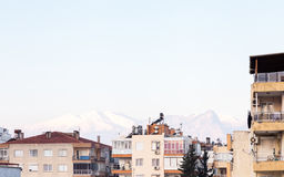 Antalya Rooftops Stock Photo