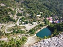 Antalya Schemerige Dam Royalty-vrije Stock Foto's