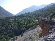 Antalya Schemerige Damm Stock Afbeelding