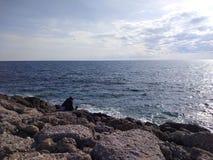 Antalya-Seiten-Strand Lizenzfreie Stockfotografie