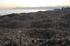Antalya-Strand Stockfoto