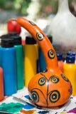 ANTALYA TURCJA, CZERWIEC, - 25, 2017: Orientalna turecka lampy bania handmade Zdjęcie Stock