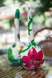 ANTALYA TURCJA, CZERWIEC, - 25, 2017: Orientalna turecka lampy bania handmade Zdjęcia Royalty Free