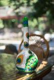 ANTALYA TURCJA, CZERWIEC, - 25, 2017: Orientalna turecka lampy bania handmade Fotografia Stock