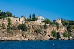 Antalya, Turkey. OLD HARBOUR IN ANTALYA, TURKEY Stock Image