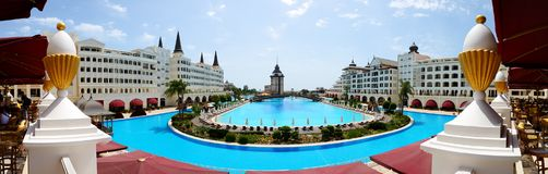 The Mardan Palace luxury hotel Stock Photography
