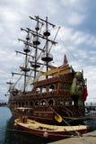 Antalya, Turkey. April 27th -2016. Pleasure craft sailing ship Royalty Free Stock Images