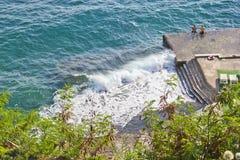 Antalya beach Royalty Free Stock Photos