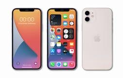 Antalya, Turkey - January 08, 2021: Apple iPhone 12 showing l