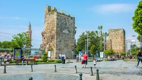 In Antalya stock footage