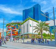 Business centers and shopping malls in Antalya Royalty Free Stock Photos