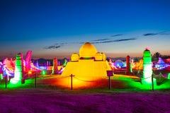 Antalya Sandland Sand Sculpture Museum stock photo