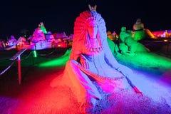 Antalya Sandland Sand Sculpture Museum royalty free stock photos