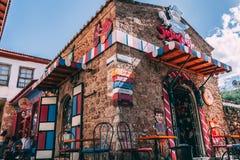 Antalya, Turkey - 7th April 2018: Candy factory shop