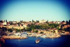 Antalya. Turkey yat limani, mediterranean Royalty Free Stock Image