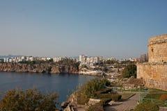 Antalya Turkiet kustlinje Royaltyfri Fotografi