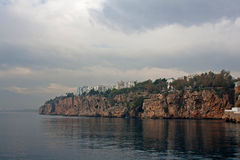 Antalya Turkiet kustlinje Royaltyfria Bilder