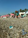 Antalya, Turkije-09/03/2018 royalty-vrije stock foto