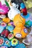 ANTALYA, TURQUÍA - 25 DE JUNIO DE 2017: Calabaza turca oriental de las lámparas hecha a mano Fotos de archivo libres de regalías