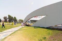 Antalya, Turquia - 19 de junho 2014 A vista é um dos oceanariums os maiores em um mundo Imagens de Stock Royalty Free
