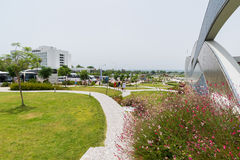 Antalya, Turquia - 19 de junho 2014 A vista é um dos oceanariums os maiores em um mundo Imagem de Stock