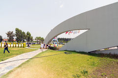 Antalya, Turquie - 19 juin 2014 La vue est l'un des plus grands oceanariums dans un monde Images libres de droits