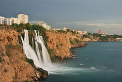 Antalya waterfall Royalty Free Stock Photography