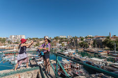 Antalya Yacht Harbour Royalty Free Stock Image