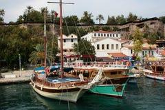 Antalyahaven Royalty-vrije Stock Foto's