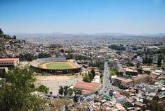 Antananarivo: άποψη της πόλης από το ύψος στάδιο πόλεων Στοκ Φωτογραφίες