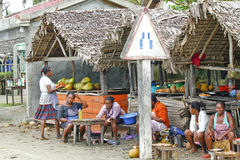 Antananarivo, Μαδαγασκάρη - 8 Αυγούστου 2014: Άγνωστο Malagasy Peop Στοκ φωτογραφία με δικαίωμα ελεύθερης χρήσης