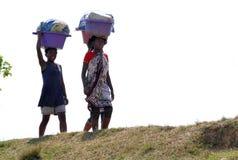 Antananarivo, Μαδαγασκάρη 24 ΝΟΕΜΒΡΊΟΥ 2016: Δραστηριότητα ανθρώπων μέσα Στοκ Εικόνες