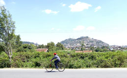 Antananarivo, Μαδαγασκάρη 24 ΝΟΕΜΒΡΊΟΥ 2016: Δραστηριότητα ανθρώπων μέσα Στοκ Φωτογραφίες